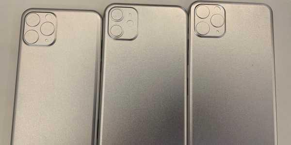 Bocoran Baru Desain Kamera iPhone 11, kok Kayak Bentol ya?