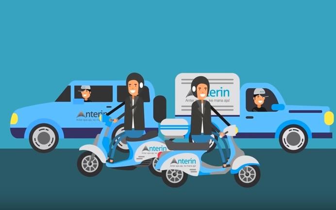 """Tolak ke Grab, Ojol Uber Pilih Migrasi ke Aplikasi Lokal """"Anterin"""""""