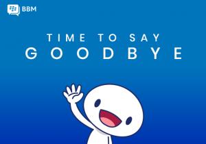 PING!!! #GoodbyeBBM, We'll Miss You..