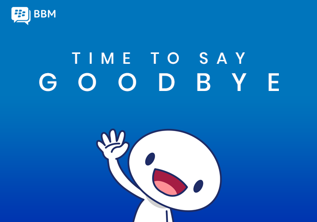 PING #GoodbyeBBM Well Miss You..