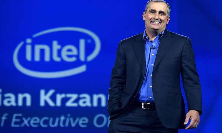 Selingkuh, CEO Intel Brian Krzanich Mengundurkan Diri