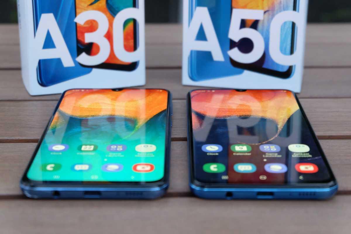 FOTO: Duo Galaxy A30 dan A50, Ponsel untuk Generasi Kekinian