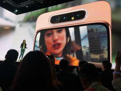 Menjajal Singkat Galaxy A80, Kameranya Pop-up & Diputar