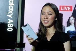 Resmi Dijual, Harga Galaxy A80 Dibanderol Rp9,5 Juta