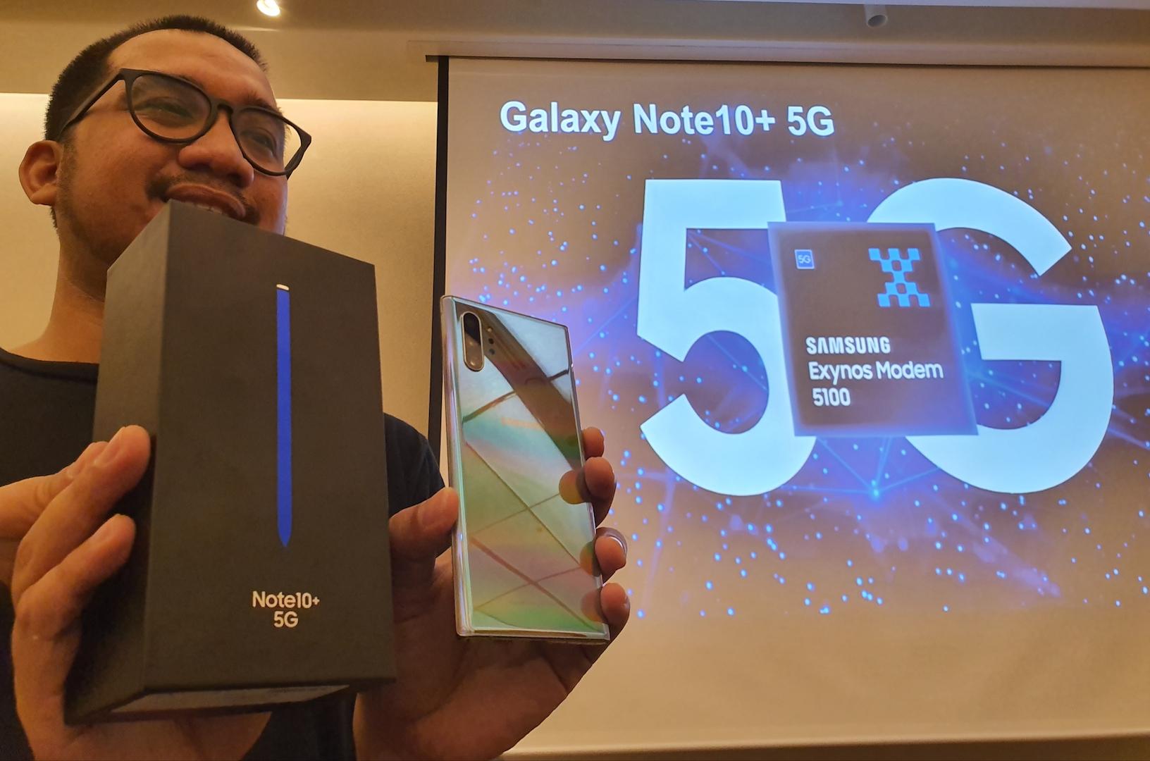 Laporan dari Seoul:  Samsung Mau Jual Galaxy Note 10+ 5G di Indonesia?