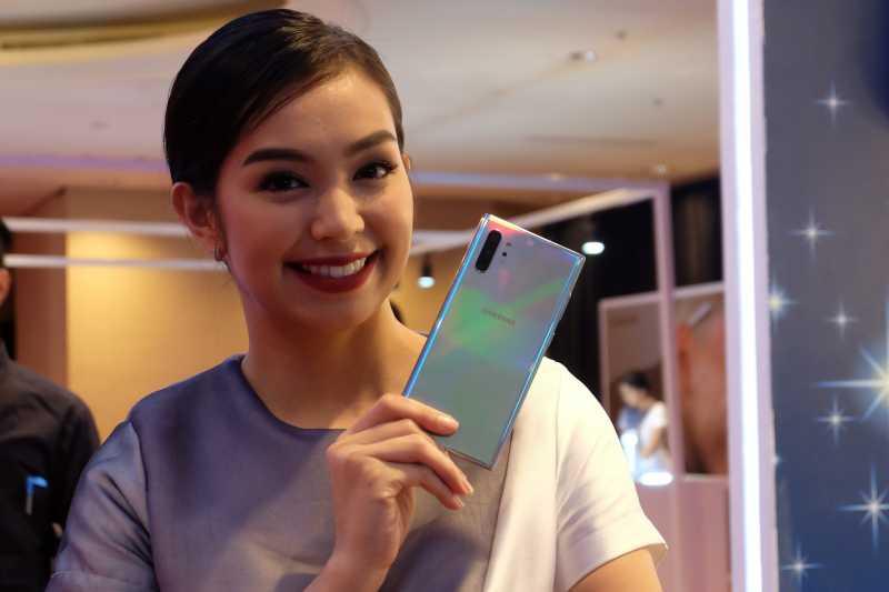 FOTO: Warna-warni Duo Galaxy Note 10 yang Dirilis di Indonesia