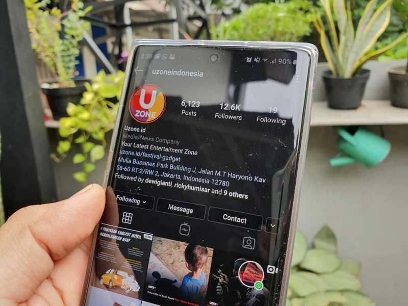 Asik! Instagram Tetiba Berubah jadi Serba Gelap di Android