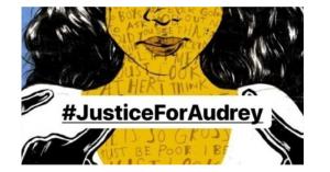 Viral Petisi Online #JusticeForAudrey untuk Remaja Korban Pengeroyokan