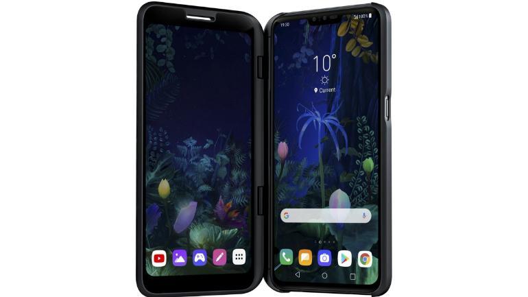 MWC 2019: LG V50 ThinQ Punya 3 Kamera dan Layar Tambahan