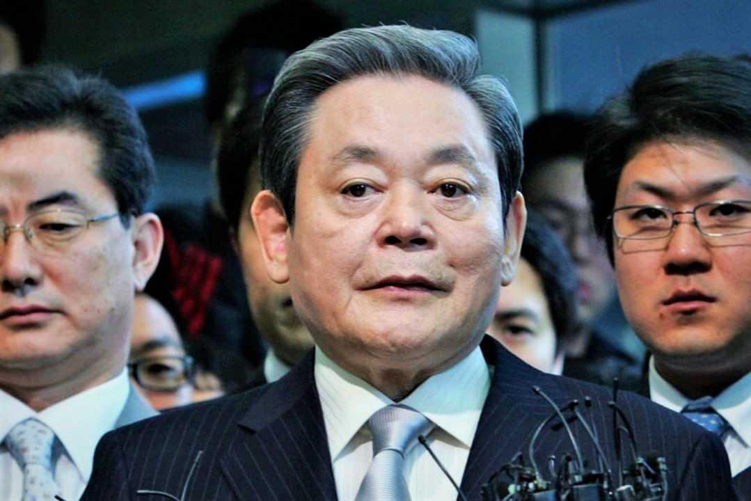 Pimpinan Samsung Lee Kun Hee Meninggal Dunia