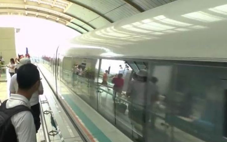 China Berhasil Uji Coba Kereta Maglev Kecepatan 1.000 km/jam