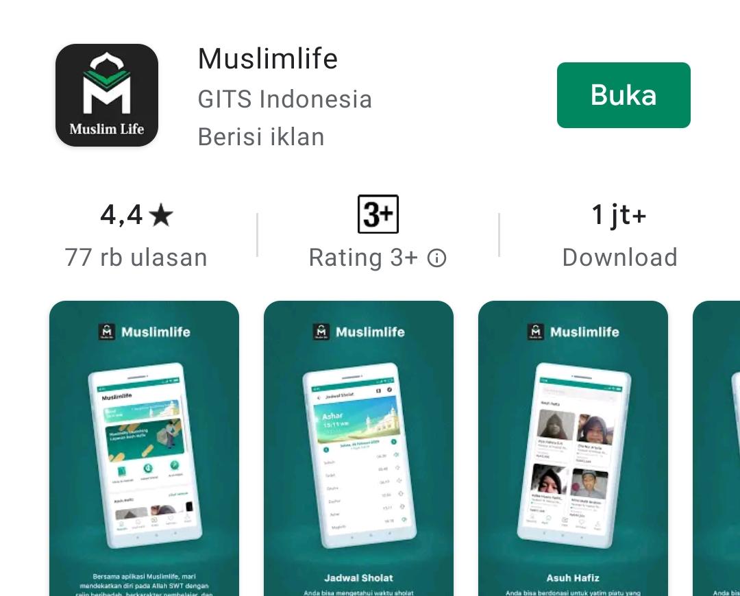Mengenal Muslim Life, Aplikasi Lokal untuk Belajar Agama Islam