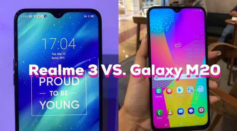 Mirip Banget, Apa Bedanya Realme 3 dengan Galaxy M20?