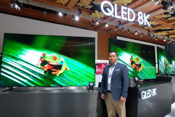 Laporan dari Singapura: LG Sudah Bikin TV Layar Gulung, Samsung Kapan?