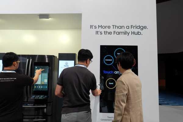 Laporan dari Singapura: Bisa Diajak Ngomong, Kulkas Samsung jadi Teman Ngobrol