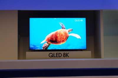 Laporan dari Singapura: Samsung Pamer 4 TV Layar Jumbo Resolusi 8K