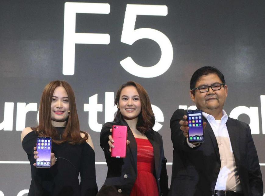 Oppo Rilis F5 dengan Kecerdasan Buatan di Kamera