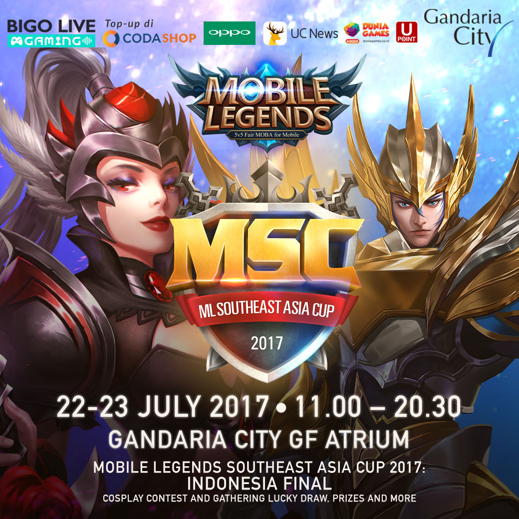 \'The Mobile Legends Southeast Asia Cup Final 2017\' Digelar Pekan Depan