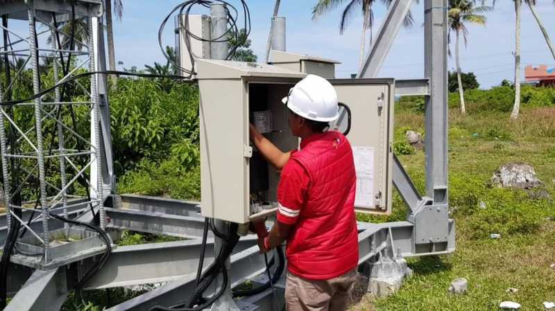 Jaringan Telekomunikasi di Palu & Donggala 100% Pulih