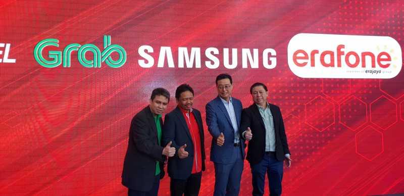 Bang Grab, Nih Ada Ponsel dan Internet Murah dari Samsung-Telkomsel