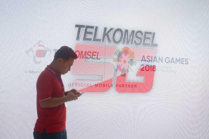 Telkomsel Pamer 5G di Senayan, Kecepatannya Sampai 16 Gbps