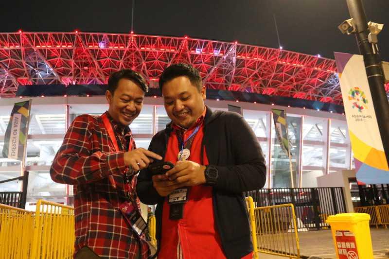 Saat Opening Asian Games, Lonjakan Data Telkomsel Sampai 95 Kali Lipat