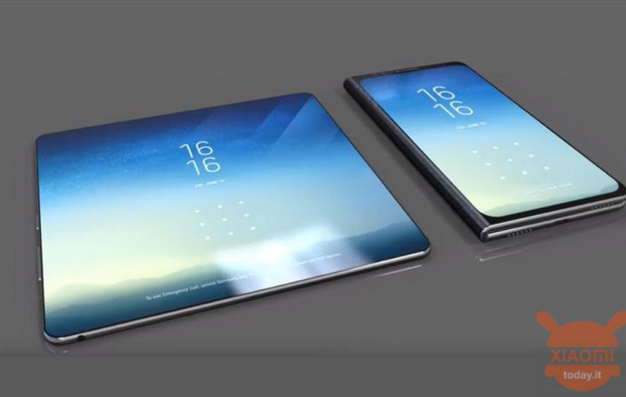 Xiaomi Patenkan Desain Smartphone Lipat 3 Layar