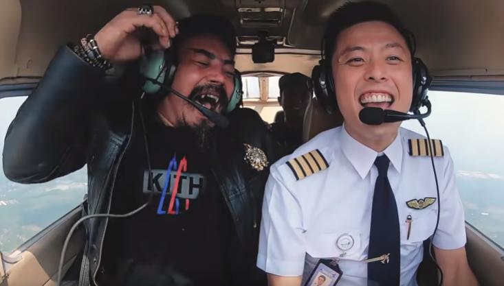 Deretan Artis yang Pernah Terbang Bareng Captain Vincent Raditya