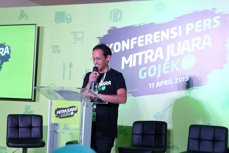Jadi Mendikbud, Nadiem Kirim Surat Perpisahan ke Karyawan Gojek