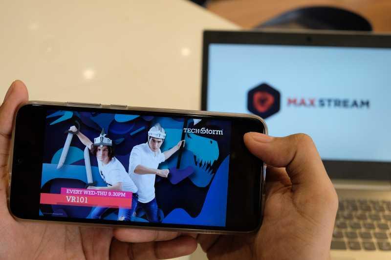 MAXstream Hadirkan Saluran Baru Startup dan eSport