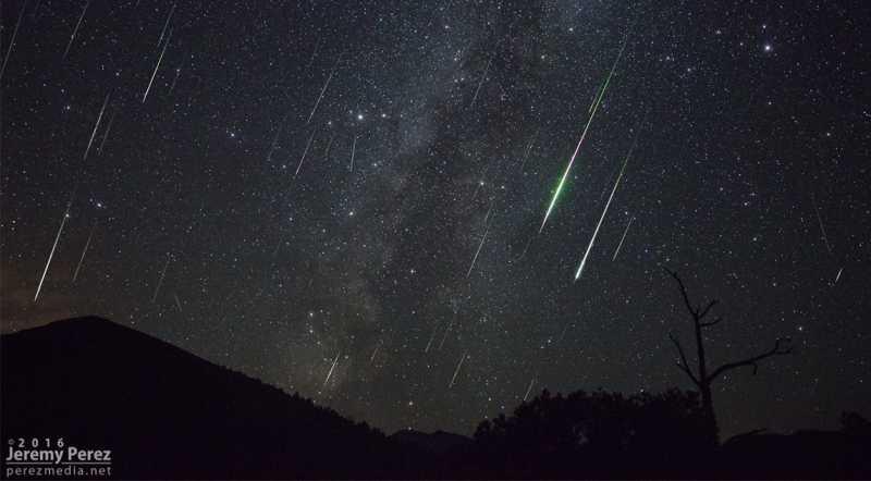 Wow! Hujan Meteor akan Hiasi Langit pada 12 Agustus