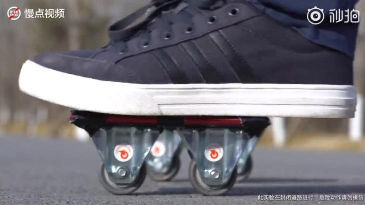 Uji Ketahanan Redmi Note 7 Disulap Jadi Sepatu Roda