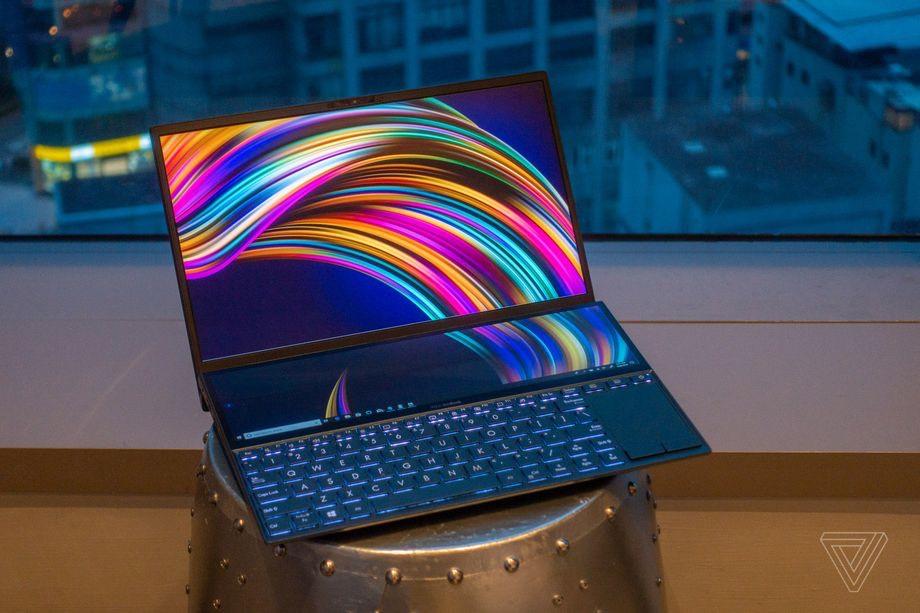 Asus Pamer Laptop 2 Layar, ZenBook Pro Duo