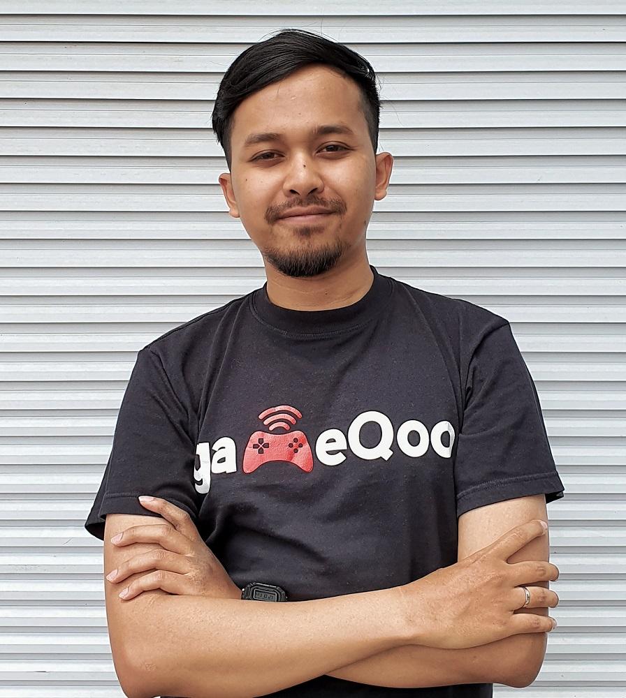 CEO gameQoo Izzuddin Al Azzam