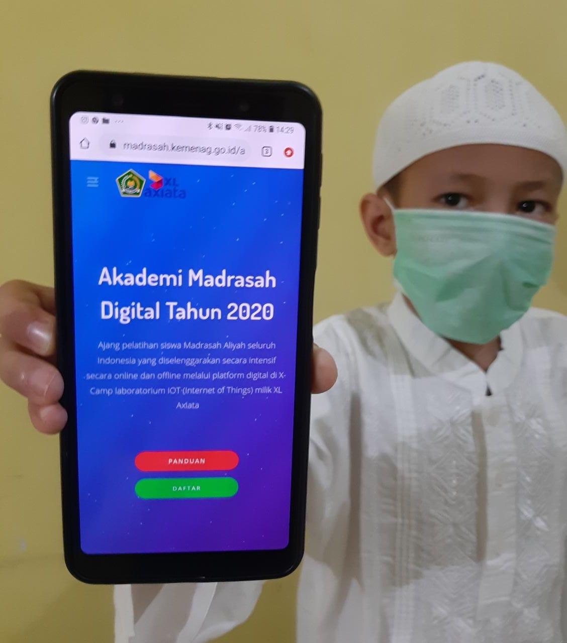 Cara XL Siapkan Siswa Madrasah Hadapi Revolusi Industri 4.0