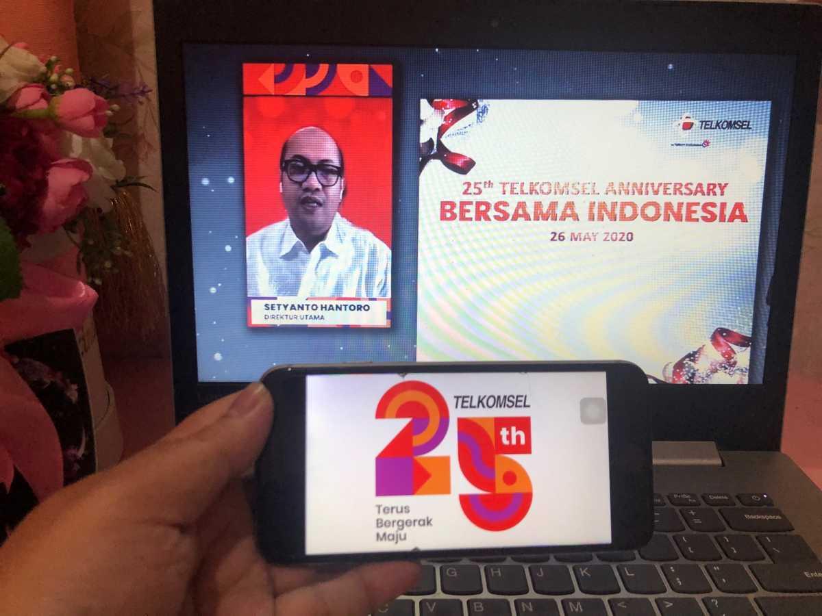 Ultah ke-25 Tahun Telkomsel di Tengah Pandemi, Total Rp25 Miliar untuk Atasi Covid-19
