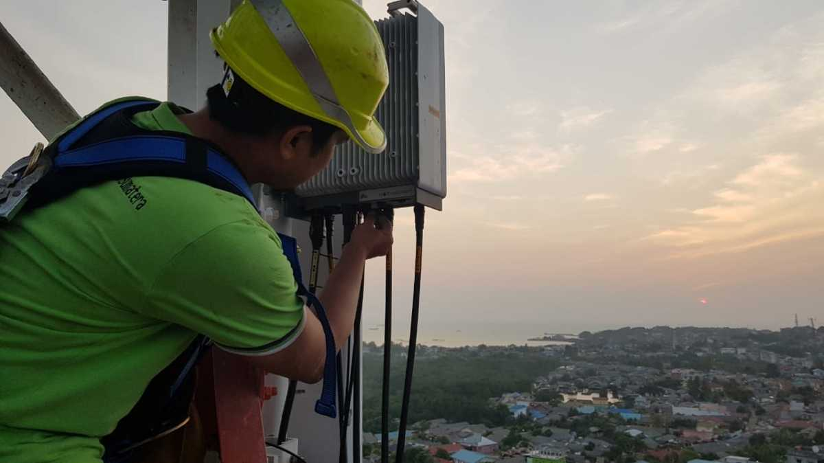 Telkomsel Bantu 5700 Penjaga BTS Telkomsel di Seluruh Indonesia Hadapi Pandemi