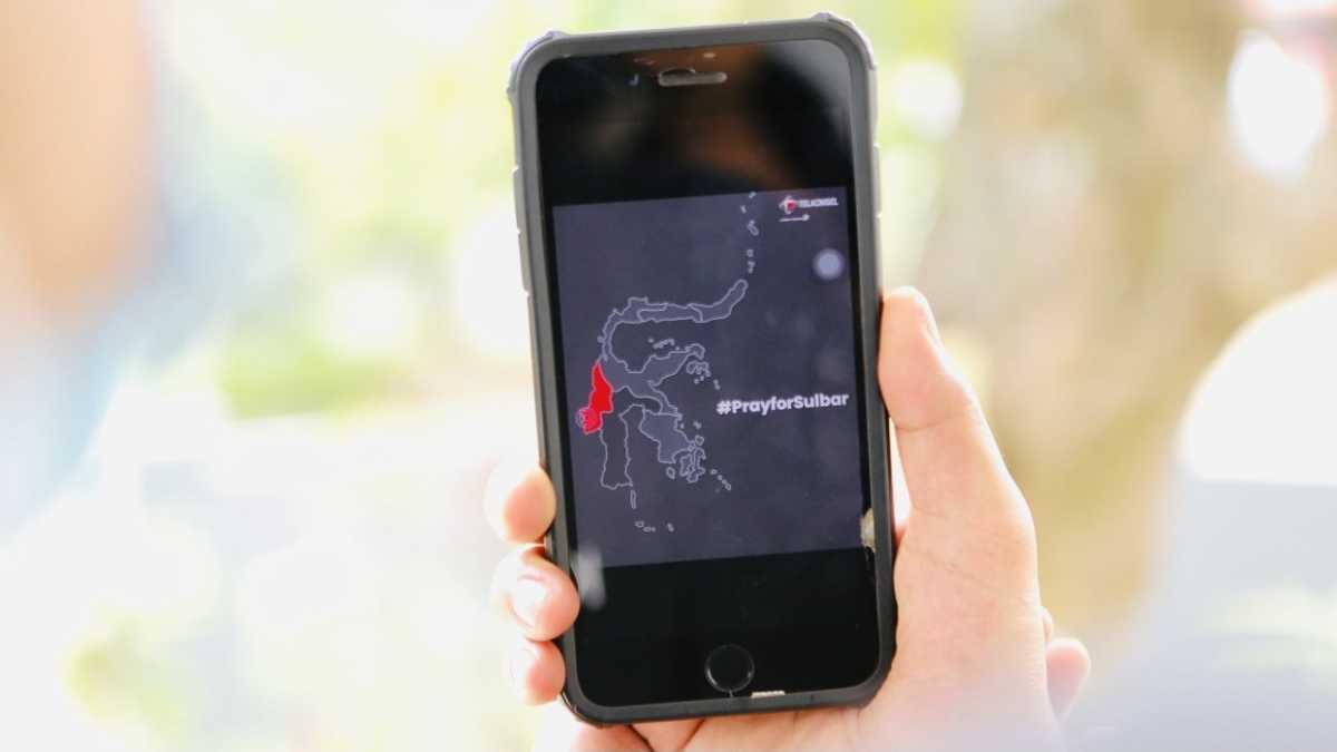 Gempa, Telkomsel Gratiskan Biaya Telepon dan SMS di Majene dan Mamuju