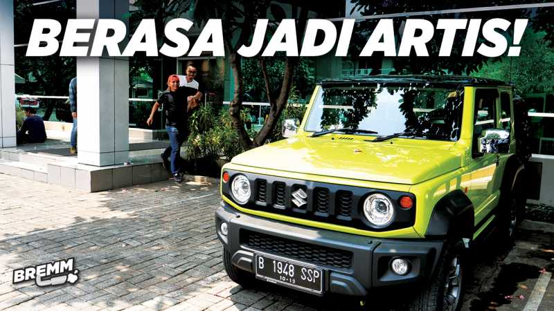 VIDEO Test Drive Suzuki Jimny, Berasa jadi Artis Di Jalanan