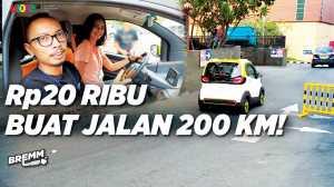VIDEO Test Drive Mobil Listrik Imut Wuling E100