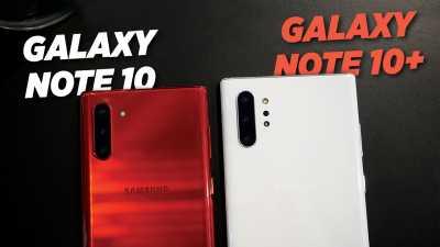Video: Langsung Review, Beda Galaxy Note 10 dan Note 10 Plus