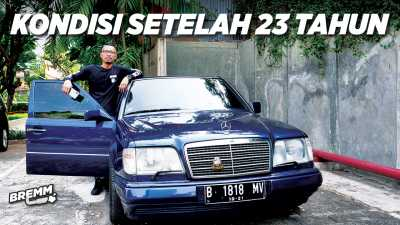 VIDEO Test Drive Review Mercedes-Benz E320 Masterpiece 1996