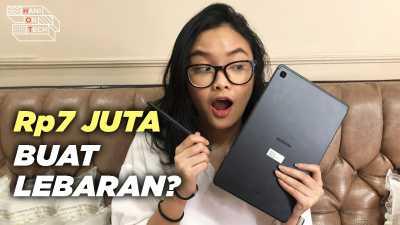 VIDEO: Unboxing Samsung Galaxy Tab S6 Lite, Rp7 Juta Dapat Apa Saja?