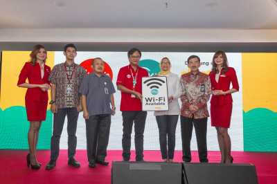 AirAsia Indonesia Luncurkan Layanan WiFi dalam Penerbangan