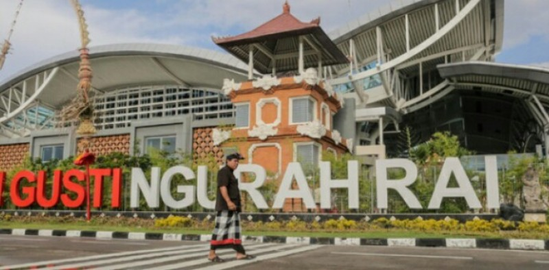 Gempa Bali, Penerbangan Bandara  I Gusti Ngurah Rai Bali Normal