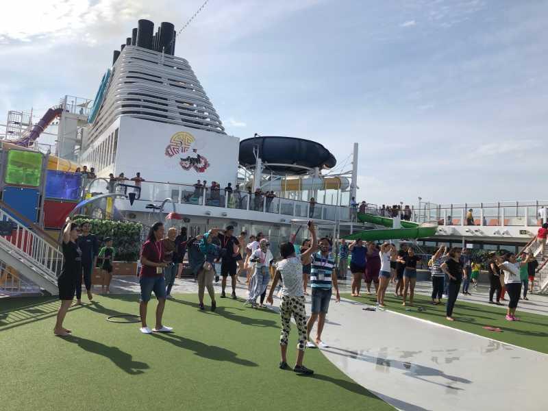 Merasakan Naik Kapal Pesiar dari Singapura ke Malaysia, Berasa Jadi Sultan