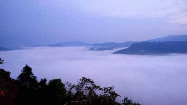 Negeri di Atas Awan Gunung Luhur Banten Mirip Bromo dan Dieng