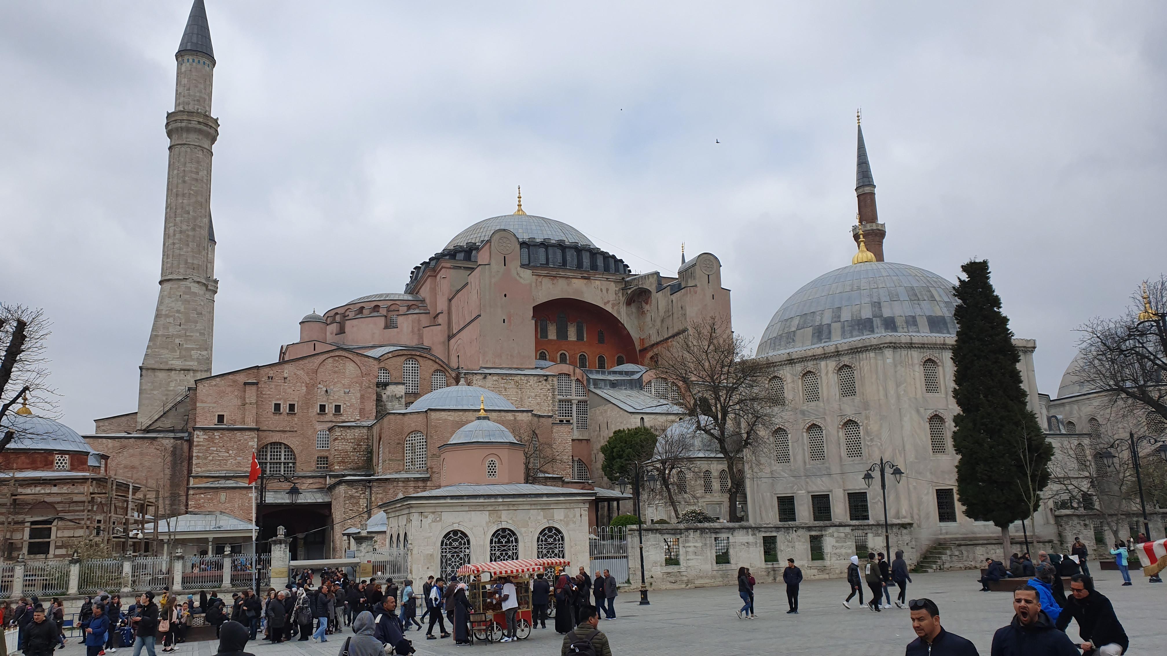 Laporan dari Turki: Hagia Sophia Saksi Dua Agama Besar di Istanbul