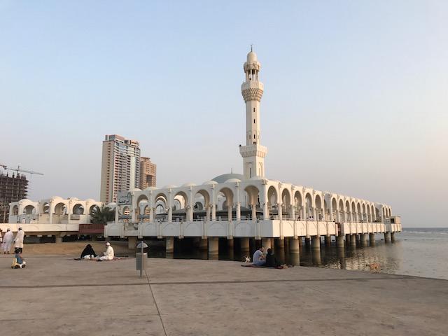 Satu Senja di Masjid Terapung