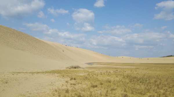 Jepang Pasang Denda untuk Turis yang Menulis di Pasir